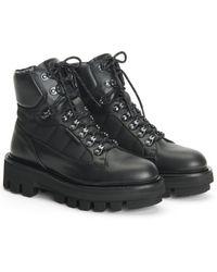 Aquatalia Hilda Weatherproof Leather Boot - Black
