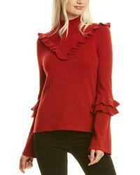Rebecca Minkoff Shelley Wool & Yak-blend Sweater - Red