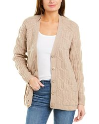 Magaschoni Wool & Cashmere-blend Cardigan - Brown
