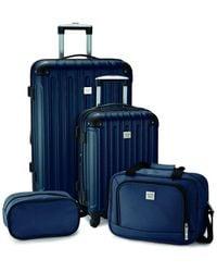 Geoffrey Beene Colorado 4pc Luggage Set - Blue