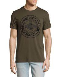 DIESEL - Brave & Wild Spirited T-shirt - Lyst