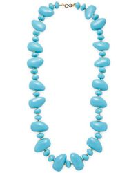 Kenneth Jay Lane - Pebble Necklace - Lyst