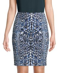 Robert Graham Sydney Mini Skirt - Blue