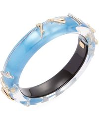 Alexis Bittar - Lucite Satellite Spike Stud Bangle Bracelet - Lyst