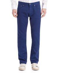 Kent & Curwen Straight-leg Jeans - Blue