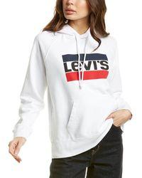 Levi's Graphic Hoodie - White