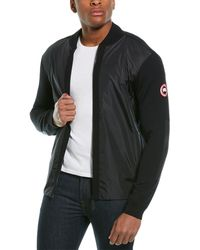Canada Goose Windbridge Wool Sweater Jacket - Black