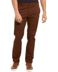Theory Zaine Rinsed Pant - Brown