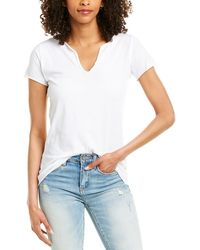 Zadig & Voltaire Tunisien Mc Photoprint Top - White