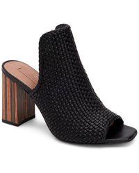 BCBGMAXAZRIA Fabianna Leather Sandal - Black