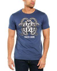 Roberto Cavalli T-shirt - Blue