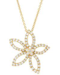 Nephora 14k 0.71 Ct. Tw. Diamond Pendant