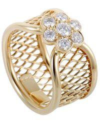 Van Cleef & Arpels Vintage - Van Cleef & Arpels 18k 0.34 Ct. Tw. Diamond Ring - Lyst