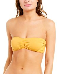 FRAME Hutton Bandeau Top - Yellow