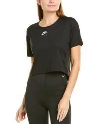 Nike Air Crop Top - Black