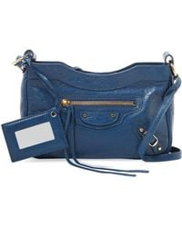 6e180450a1 Balenciaga - Classic Hip Small Leather Crossbody - Lyst
