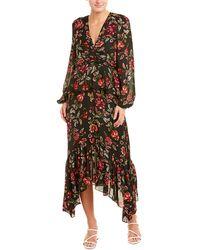A.L.C. Stanwyck Silk Maxi Dress - Black