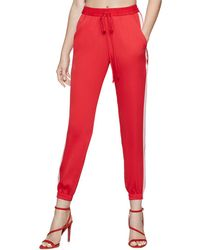 BCBGeneration Contrast Jogger Pant - Red