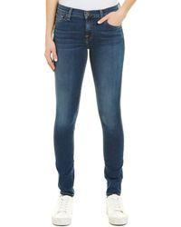 7 For All Mankind 7 For All Mankind Gwenevere Blue Skinny Jean