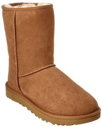 UGG Women's Classic Short Ii Water-resistant Twinface Sheepskin Boot - Brown