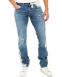 J Brand Tyler Patria Straight Leg - Blue
