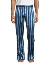 La Perla - Silk Embroidered Pants - Lyst