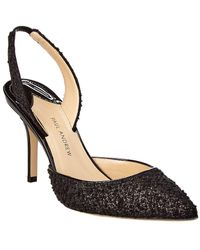 Paul Andrew Aw Boucle Pump - Black