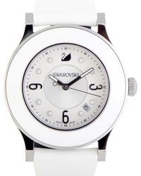 Swarovski - Rubber Watch - Lyst