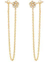 Ariana Rabbani - 14k Diamond Earrings - Lyst