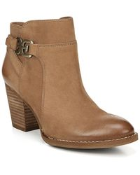 Sam Edelman Morgan Leather Bootie - Brown