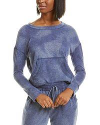 Ariella Pocket Sweatshirt - Blue