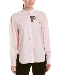 Paul & Joe Cat Rose Top - Pink
