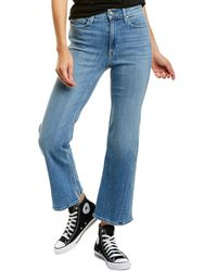Ayr The New Wave Aces Crop Jean - Blue