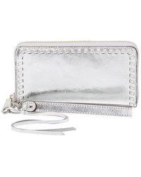 Rebecca Minkoff Vanity Phone Wallet - Metallic