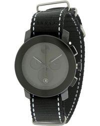 Movado Bold Nylon Unisex Watch 3600308 - Black
