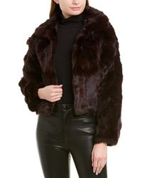 Adrienne Landau - Textured Jacket - Lyst