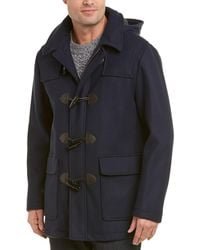 Brooks Brothers - Short Wool-blend Duffle Coat - Lyst