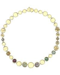 Marco Bicego Jaipur Colour 18k Gemstone Collar Necklace - Metallic