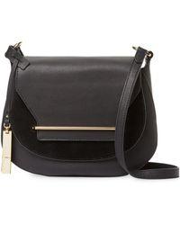 Vince Camuto - Eda Leather Crossbody Bag - Lyst