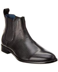 Gordon Rush Leather Chelsea Boot - Black