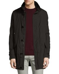 Allegri | Military Canvas Fur Lined Coat | Lyst