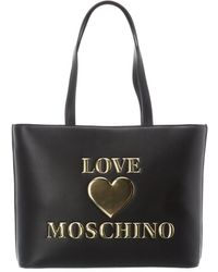 Love Moschino Tote - Black