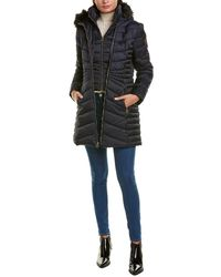 Laundry by Shelli Segal Puffer Coat - Blue