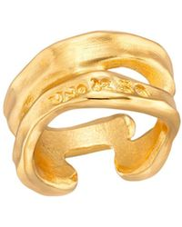 Uno De 50 Open Space Ring - Metallic