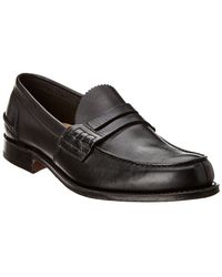 Church's Classic Leather Loafer - Black