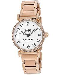 COACH Women's Madison Watch - Metallic