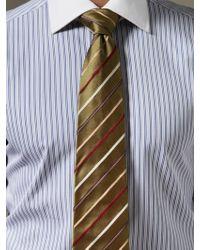 Façonnable - Silk Multi Stripe Tie - Lyst