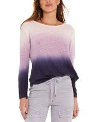 Young Fabulous & Broke Twister Linen T-shirt - Purple