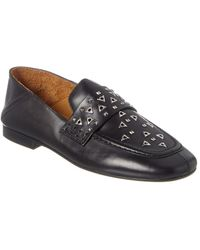 Isabel Marant Leather Loafer - Black