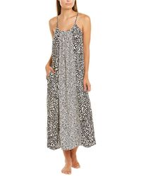 Donna Karan Maxi Sleep Gown - Black